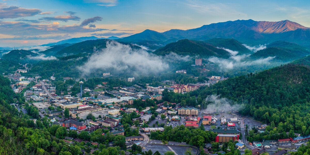 "Traveling ""The Quartet"" in The Smoky Mountains"
