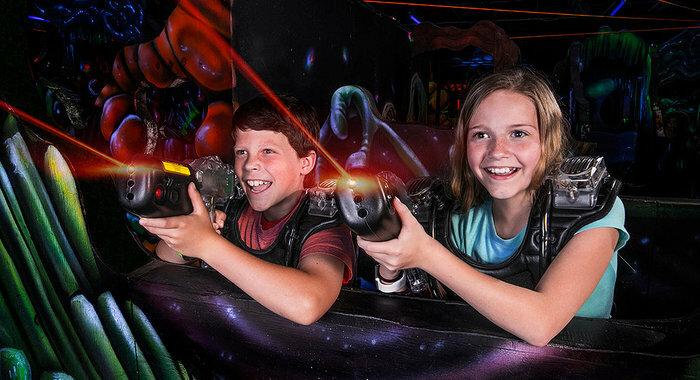 Laser Tag at LazerPort Fun Center