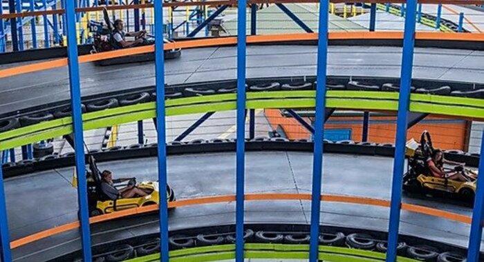 Go Karts at LazerPort Fun Center