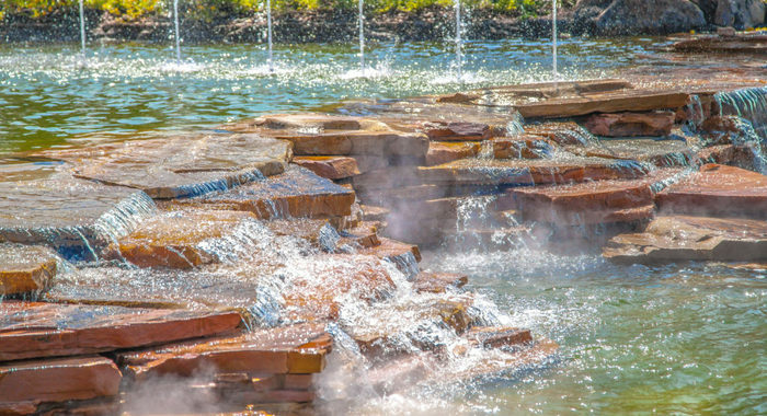 Show Fountains at The Island