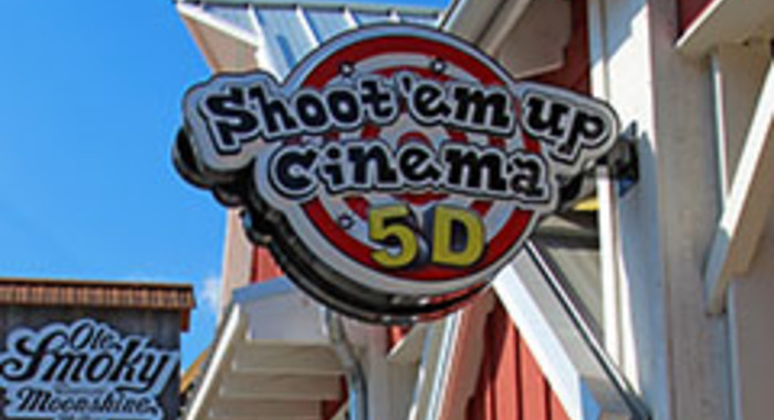 Shoot Em' Up Cinema at The Amazing Mirror Maze