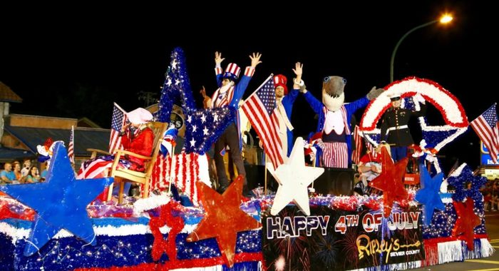 4th of July Midnight Parade